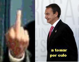 los españoles no creen en  Zapatero