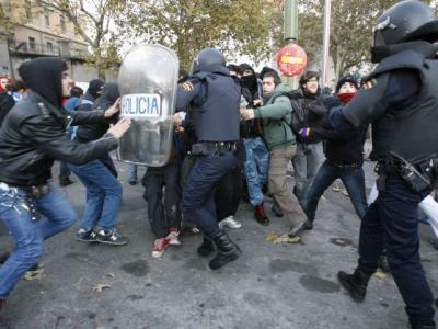 Nuevos disturbios en el Cabanyal