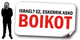 CAMPAÑA DE BOIKOT A ISRAEL EN EUSKAL HERRIA