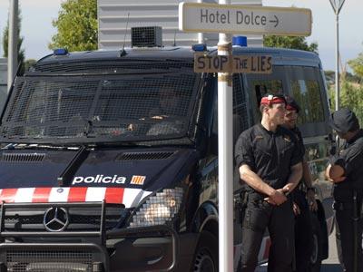 El despliegue policial cuesta 600.000 euros