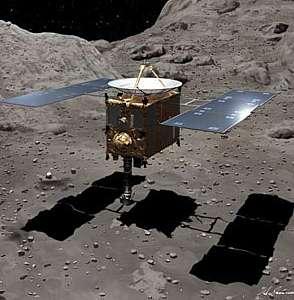 Hayabusa  regresó de su viaje del asteroide Itokawa
