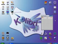 Kolibri sistema operativo  de 1.44 Mb