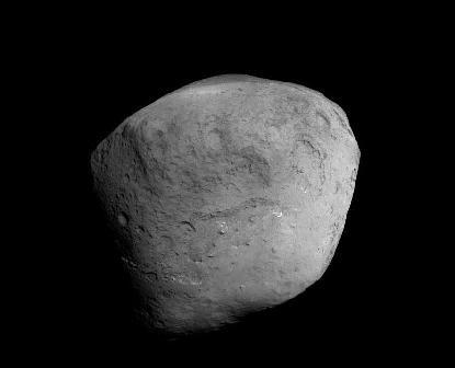 El Cometa Tempel 1 desde la sonda Stardust-NeXT