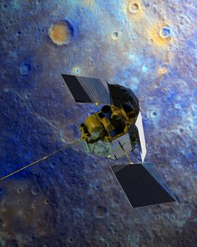 La sonda Messenger ya está en Mercurio