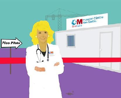 Esperanza Aguirre inagura un Hospital...