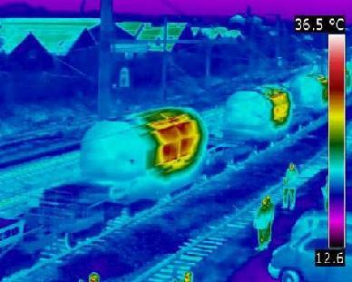Greenpeace revela imágenes del transporte de residuos nucleares