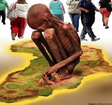 El hambre en el mundo