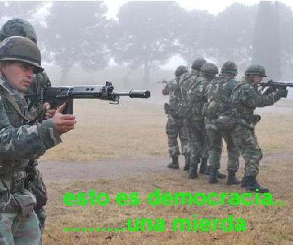 """10.000 soldados en caso de """"crisis mayor"""""""