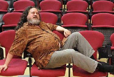 Richard Stallman a los indignados del 15-M: 'Muchas gracias y buena suerte'