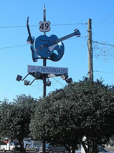 Clarksdale crossroads